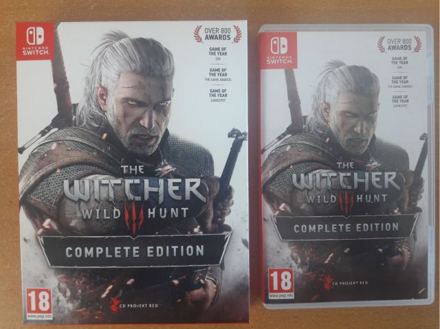 The Witcher 3 Complete Edition Switch cover