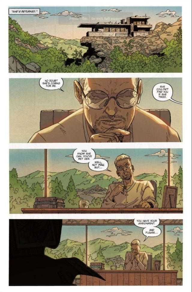 Blade Runner issue #9 Selwyn and Hythe