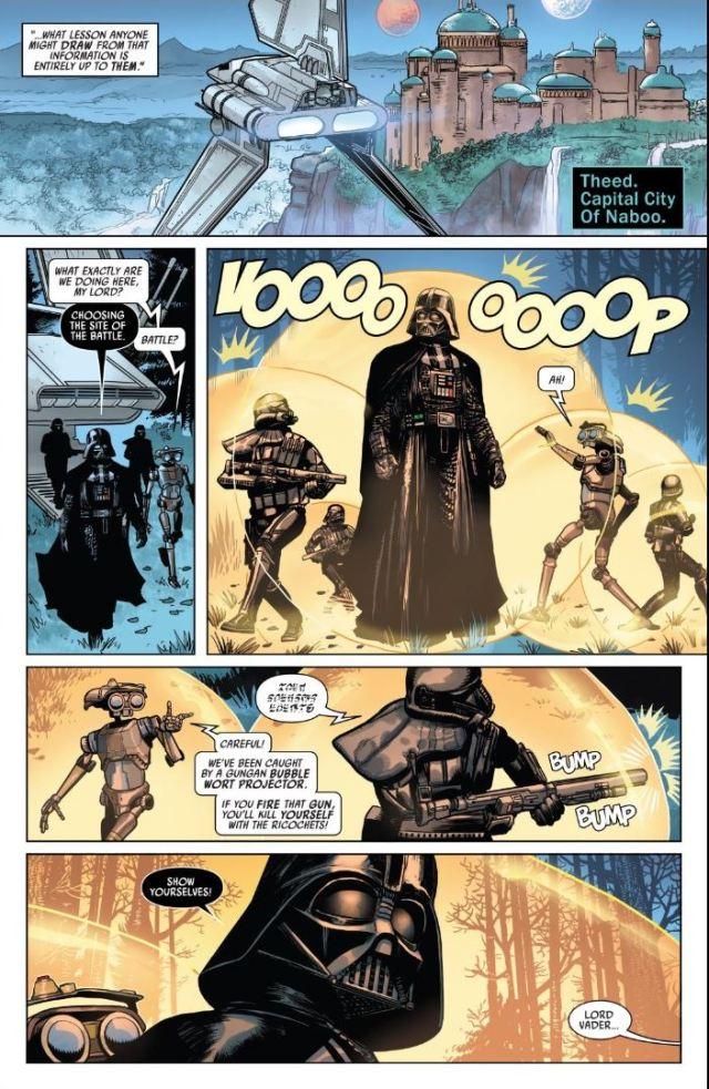 Review Issue #4 Star Wars Darth Vader Theed