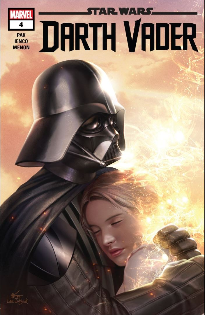 Review Issue #4 Star Wars Darth Vader cover