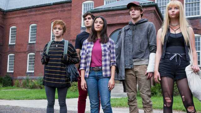 The New Mutants the gang from the asylum