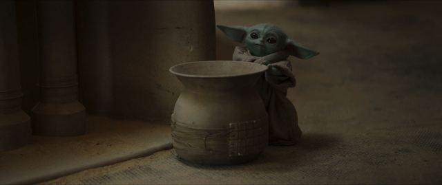Mandalorian Chapter 9 The Marshal - Baby Yoda
