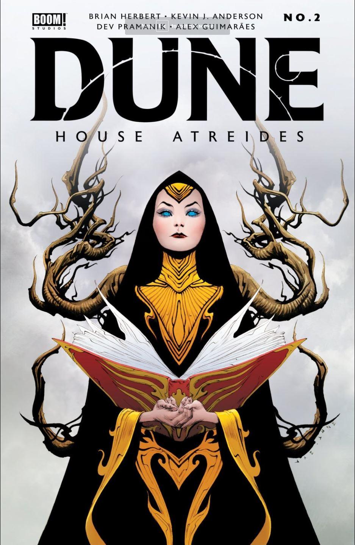 Dune House Atreides issue 2 cover