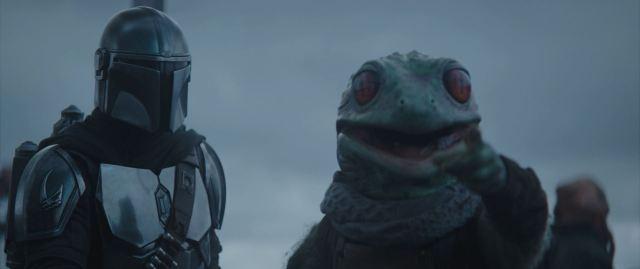 Frog man leads Mando