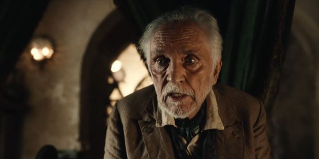 Terence Stamp as Paradisi in His Dark Materials