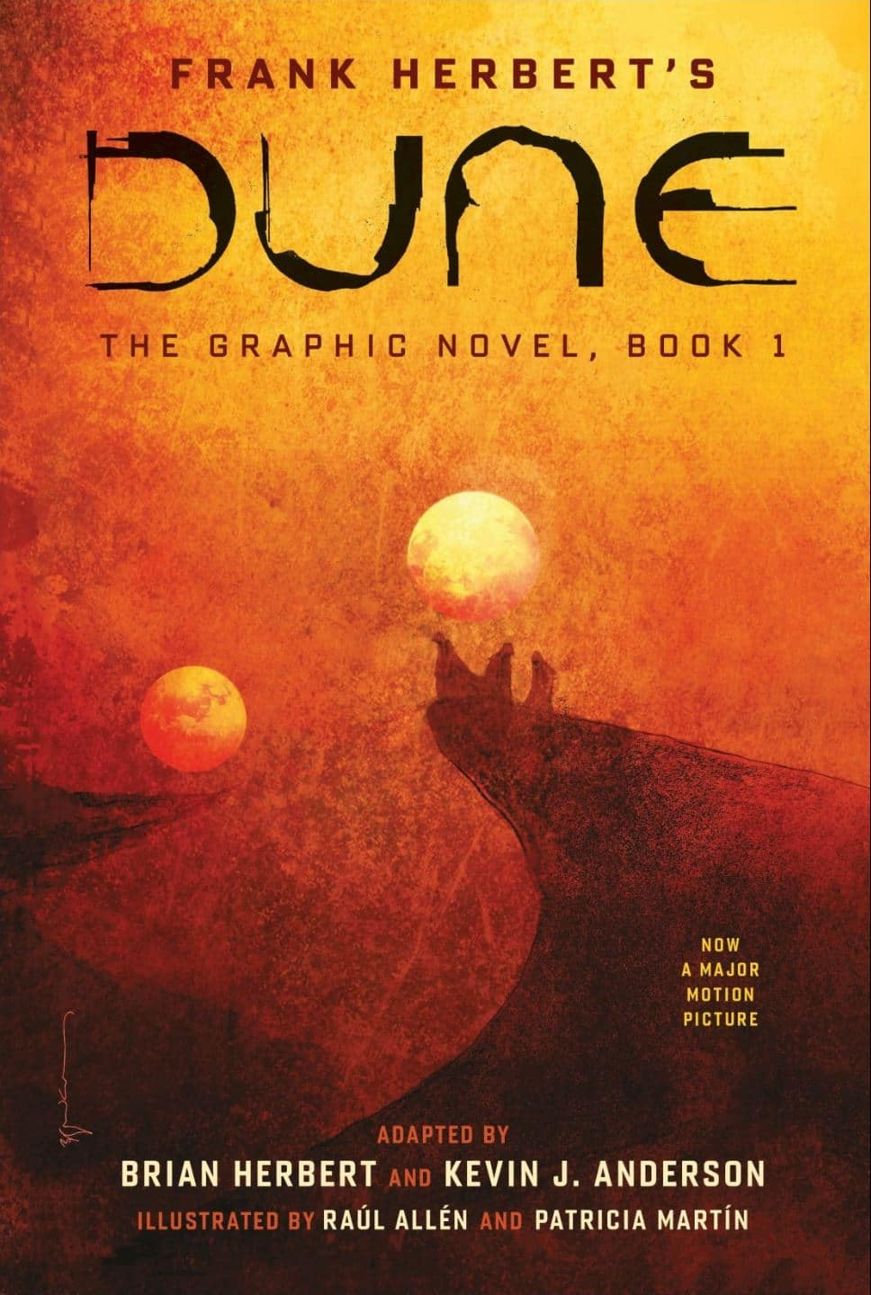 DUNE The Graphic Novel book 1 cover art