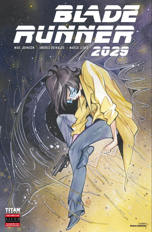 Blade Runner 2029 #4 cover by Peach Momoko