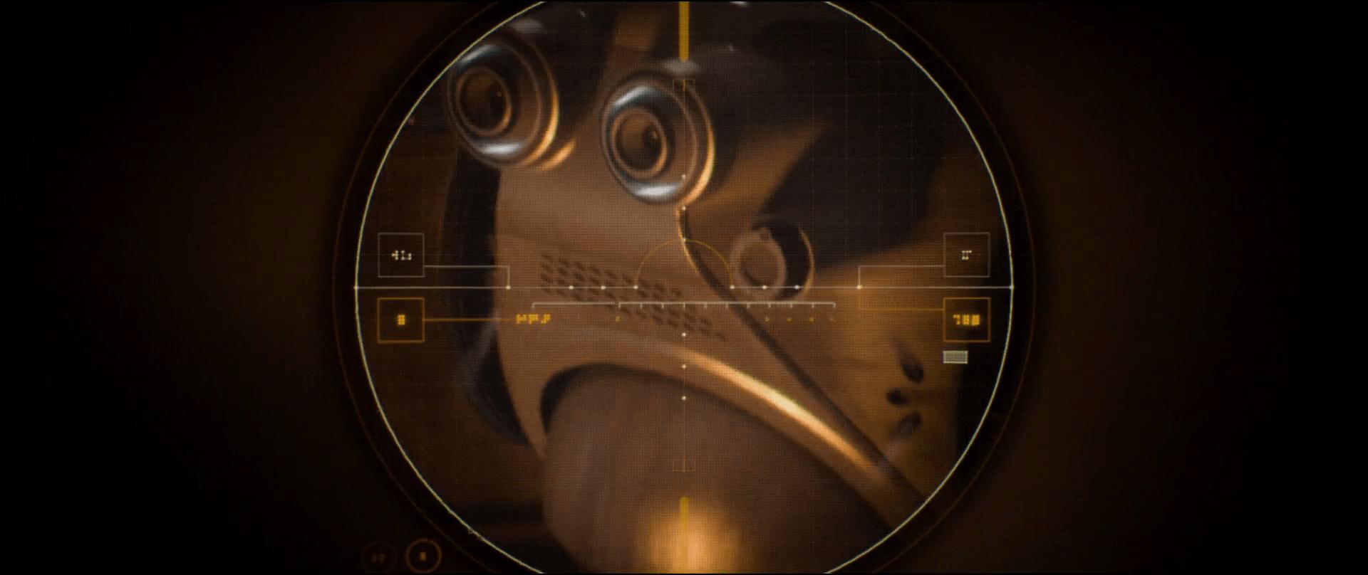 Sci Fi Reticle : Scav reticle sci fi interfaces
