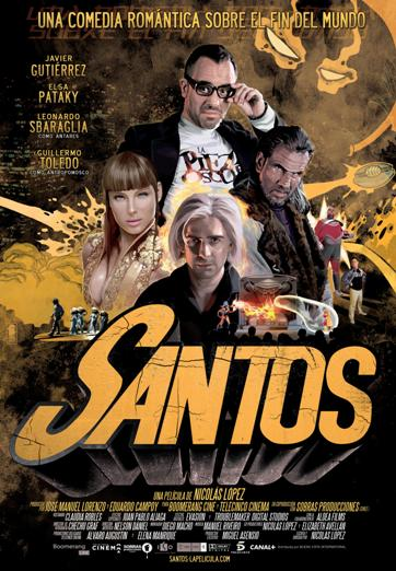 Santos movie poster