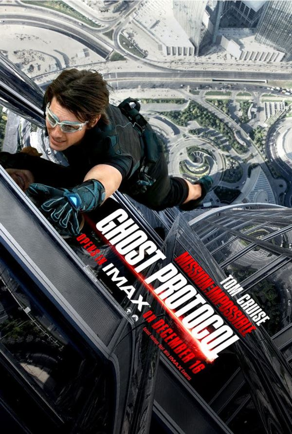 JJ Abrams Star Wars Mission Impossible 4 With IMAX