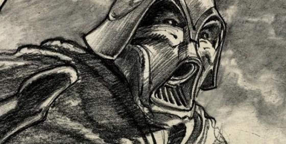 D23 Darth Vader concept art