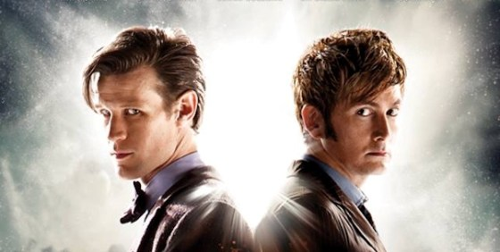 Doctor Who Day of the Doctor poster wide