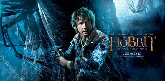 The Hobbit TDOS banner 3 spiders