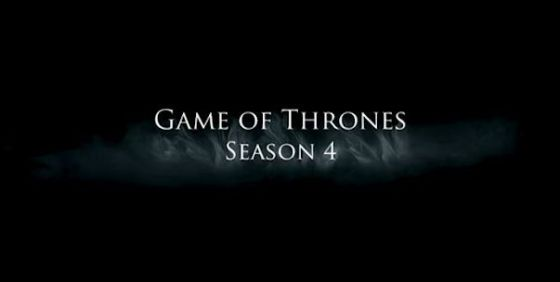 Game of Thrones s4 logo wide