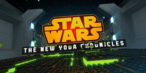 Star Wars The New Yoda Chronicles logo wide