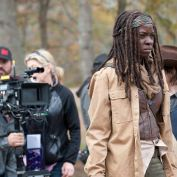The Walking Dead BTS 416 michonne