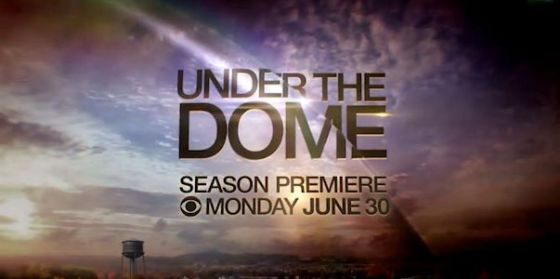 Under the Dome logo s2 premiere wide
