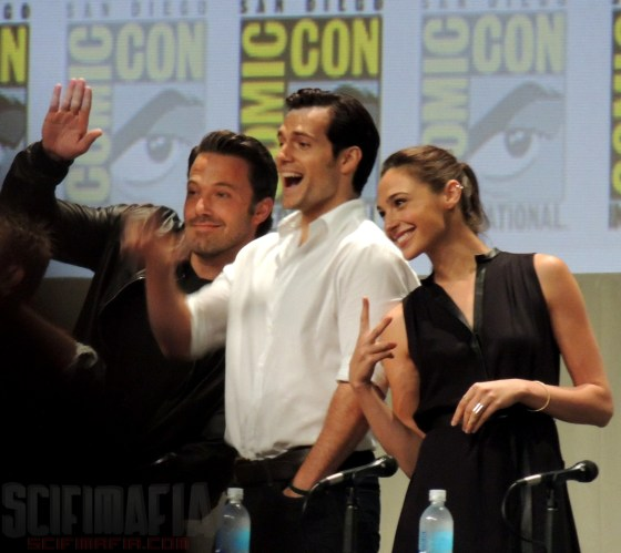 Batman v Superman Affleck Cavill Gadot