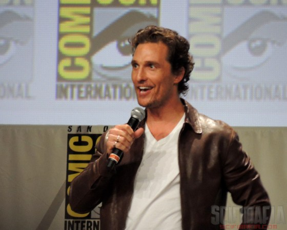 SDCC 2014 Interstellar Matthew McConaughey