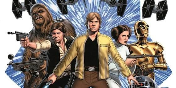 Star Wars 1 Marvel comic wide