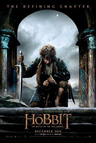 The Hobbit TBOTFA Poster