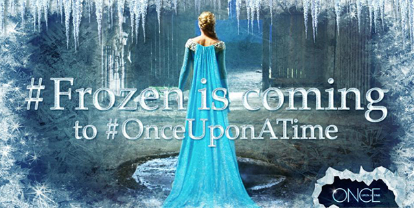 frozen is coming once upon a time