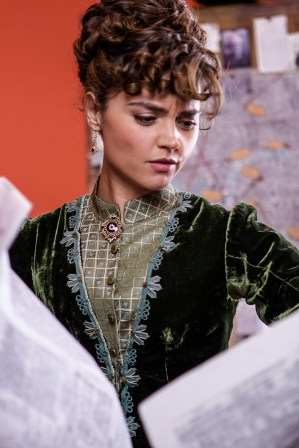 Picture shows: Clara (Jenna Coleman)