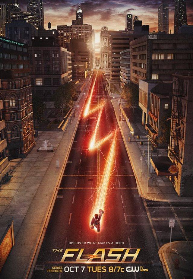 The Flash key art poster