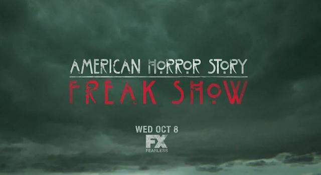 AHS Freak Show logo clouds premiere date wide1