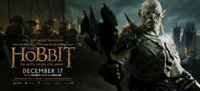 The Hobbit TBOTFA banner Agog closer