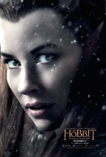 The Hobbit TBOTFA character poster Tauriel