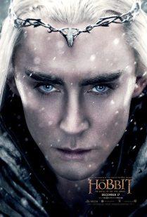 The Hobbit TBOTFA character poster Thranduil