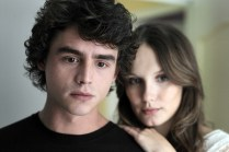 """L to R, Pierre Perrier and Ana Girardot in the SundanceTV original series """"The Returned""""-Photo Credit: Jean-Claude Lother"""