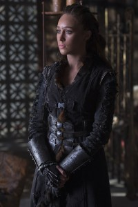 "The 100 -- ""Ye Who Enter Here"" -- Image HU303A_0052 -- Pictured: Alycia Debnam-Carey as Lexa -- Credit: Cate Cameron/The CW -- © 2016 The CW Network, LLC. All Rights Reserved"