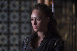 "The 100 -- ""Ye Who Enter Here"" -- Image HU303A_0054 --  Pictured: Alycia Debnam-Carey as Lexa -- Credit: Cate Cameron/The CW -- © 2016 The CW Network, LLC. All Rights Reserved"