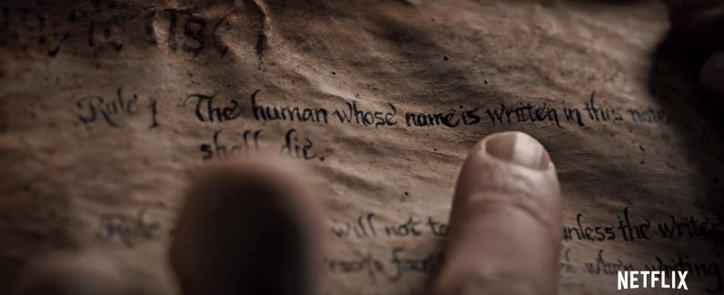 Death Note Netflix Full Trailer (1)