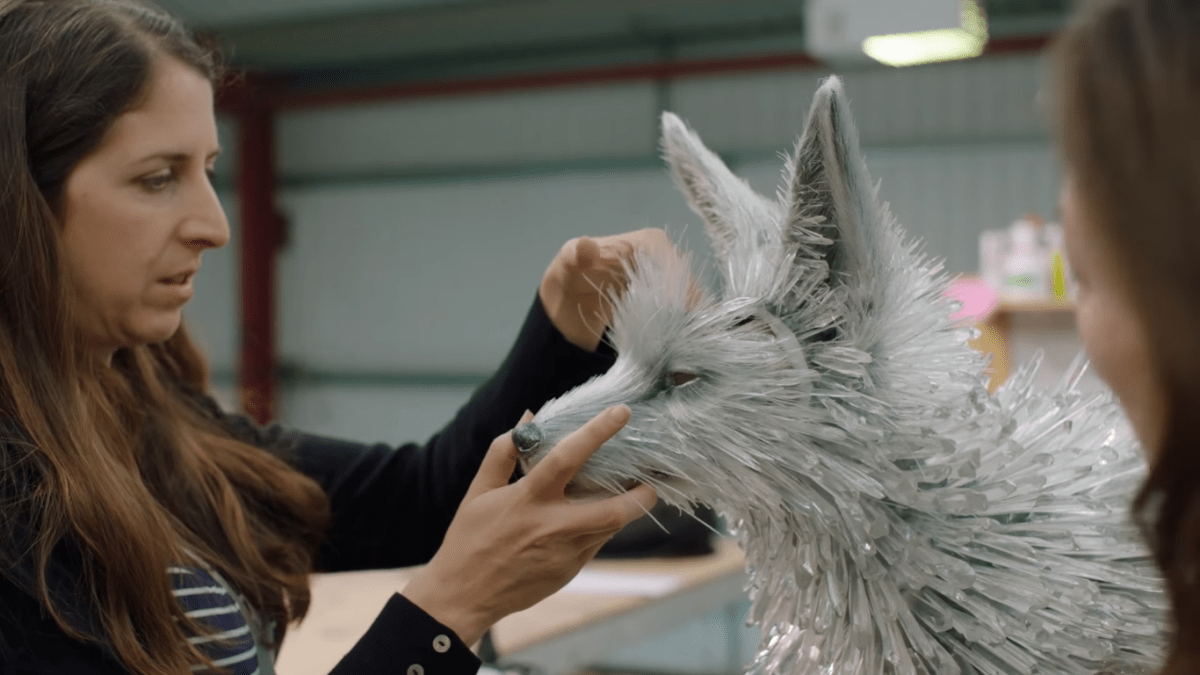 See the creation of the Vulptex in this Star Wars: The Last Jedi featurette.