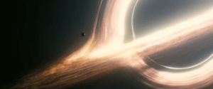 Gargantua-black hole-planet