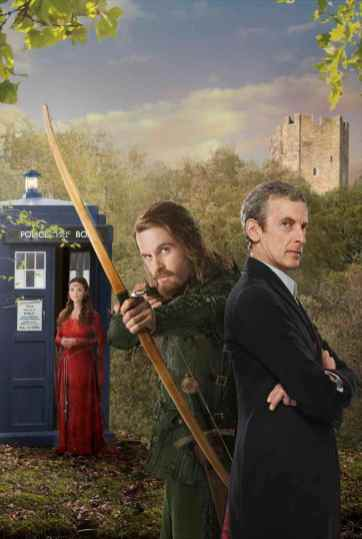 The Doctor, Robin Hood and Clara