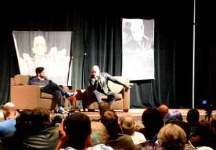 Rooker on stage_FB