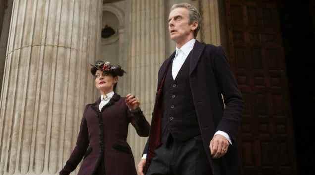 Doctor Who Dark Water Peter Capaldi Michelle Gomez