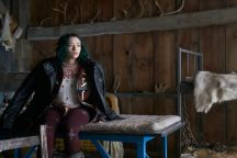 """DARK MATTER -- """"Wish I'd Spaced You When I Had the Chance"""" Episode 211 -- Pictured: Jodelle Ferland as Five -- (Photo by: Russ Martin/Prodigy Pictures/Syfy)"""