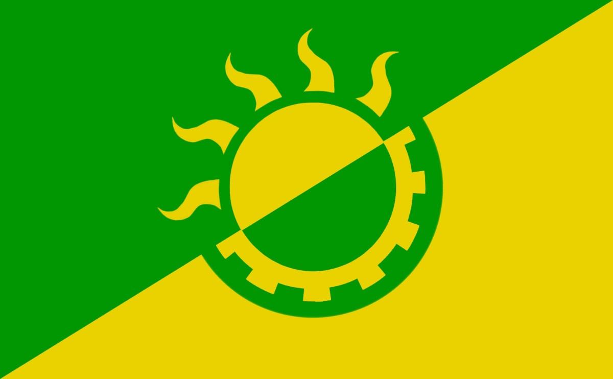 Solar Punk flag