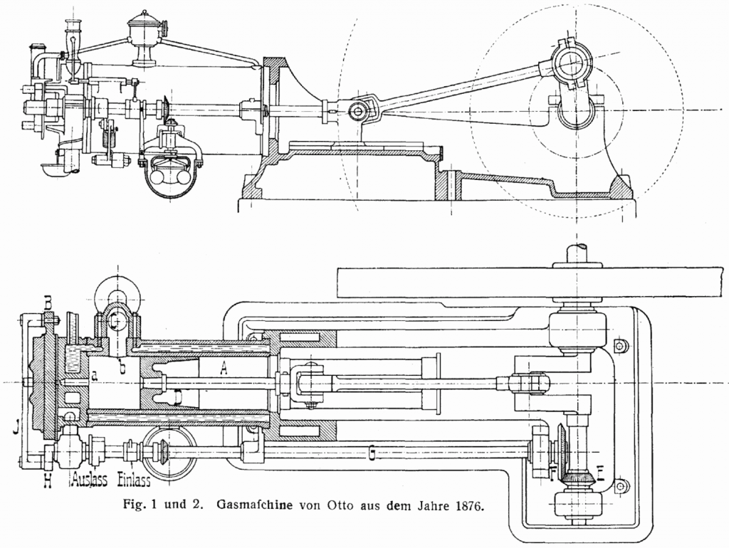 Nikolaus Otto And The Four Stroke Engine