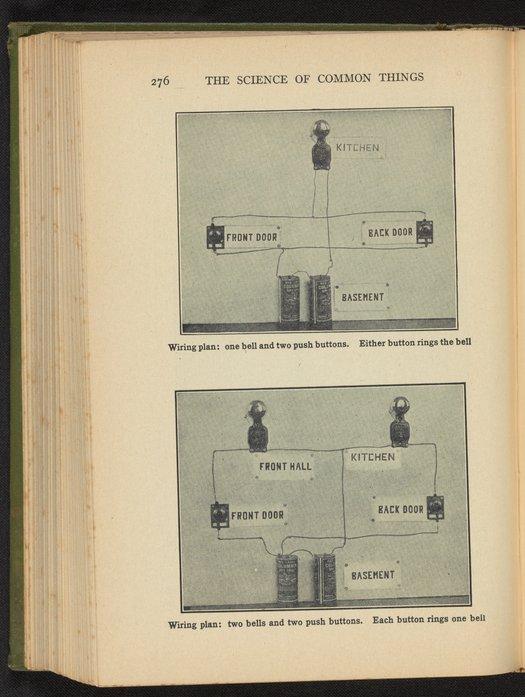 electrical wiring diagram for doorbells  science history