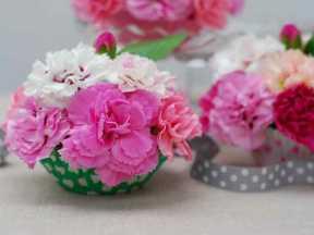 Floral cucpakes