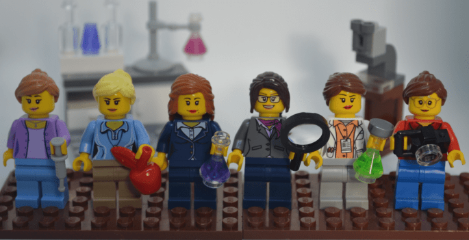 Lego representations of the SciMoms