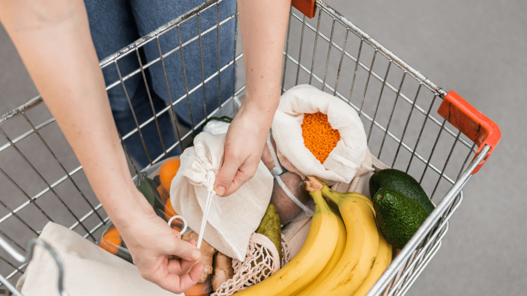 Cut your food waste by thinking about how much you really need from the grocery store
