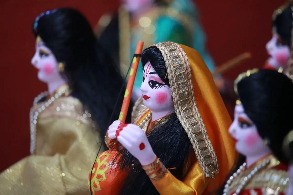 photo depicting unparalleled Draupadi and Karna