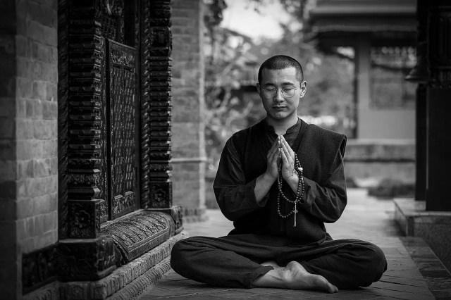 Meditation on elements of Yoga